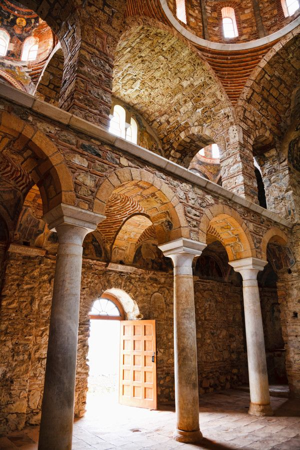 This is my Greece | Byzantine church at Mystras, Laconia