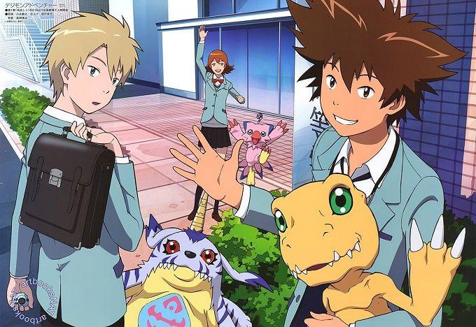 Daisuke Namikawa y Yuuko Kaida se unen al reparto del Anime Digimon Adventure Tri.