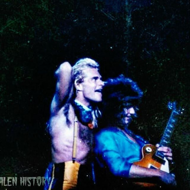 **NEW PHOTO** NEW NEVER BEFORE SEEN Photo Of DAVID LEE ROTH & EDDIE VAN HALEN (With A Gibson Les Paul) At The [LA FORUM - INGLEWOOD CALIFORNIA] January 1st 1980! [Credit: Craig Berteit] #evh #eddievanhalen #alexvanhalen #davidleeroth #diamonddave #michaelanthony #vintage #classic #klassik #rock #music #history #1980s #1980 #worldinvasiontour #womenandchildrenfirst #PartyTillYouDie #NeverBeforeSeen #NewPhoto #LAforum #RockHistory #vantastikhistory #vantastik #vanhalen #vanhalenhistory
