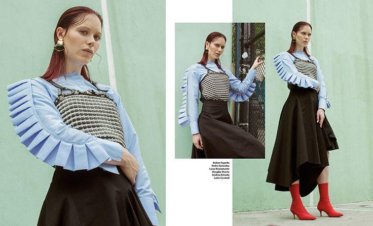 Mira la editorial completa en www.fashionradicals.com Moda Colombiana en NYC