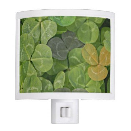 Multicoloured leaves with patterns night light -nature diy customize sprecial design