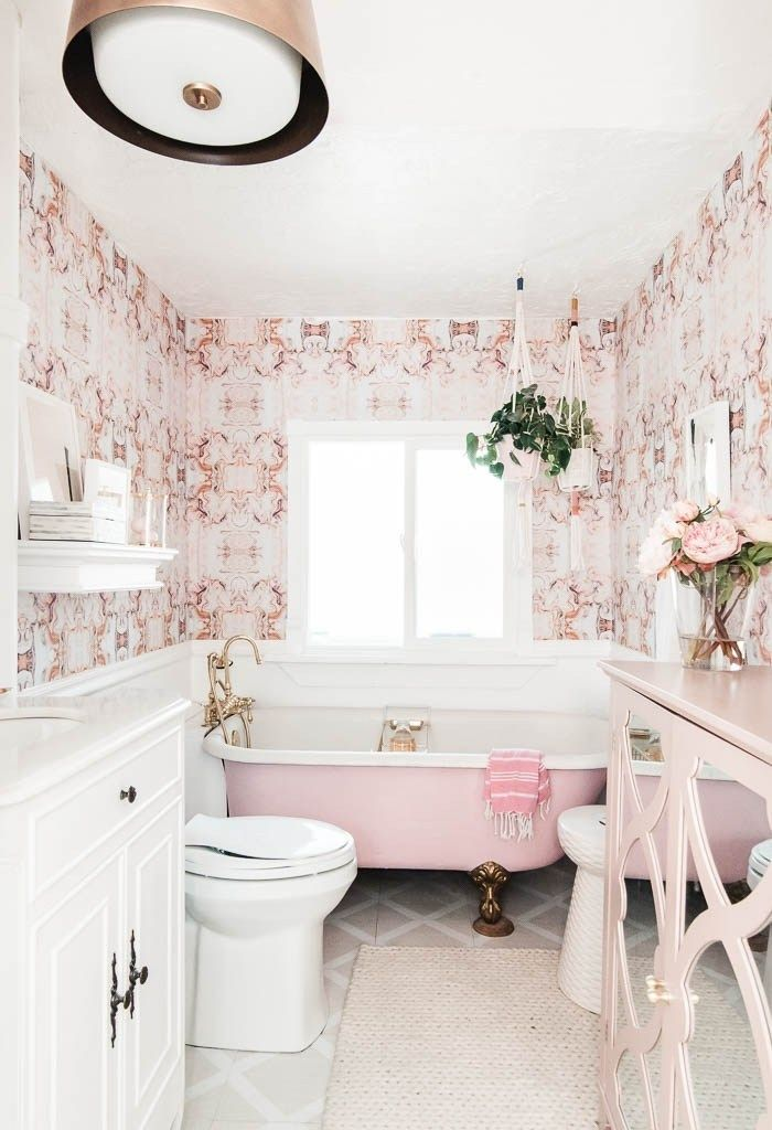 How S That Project Holding Up At Home With Ashley Gold Bathroom Victorian Bathroom Dollhouse Bathroom