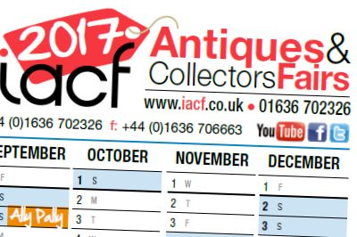 2017 Antique Fairs Calendar