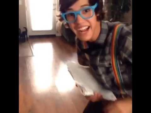 Cameron Dallas grind on me  nerd version omg in loveeeeee Cameron marry me plz?????