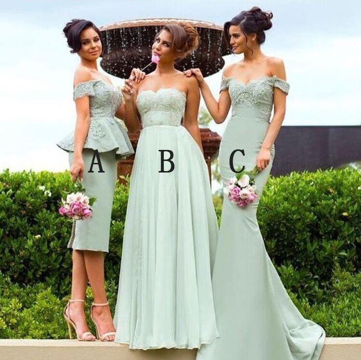Superb  best Wedding Bridesmaid Dresses images on Pinterest Marriage V necks and Wedding parties