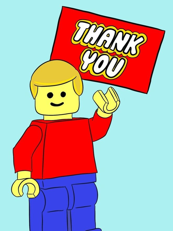 Free Download Lego Thank You Tags Lego In 2019 Lego