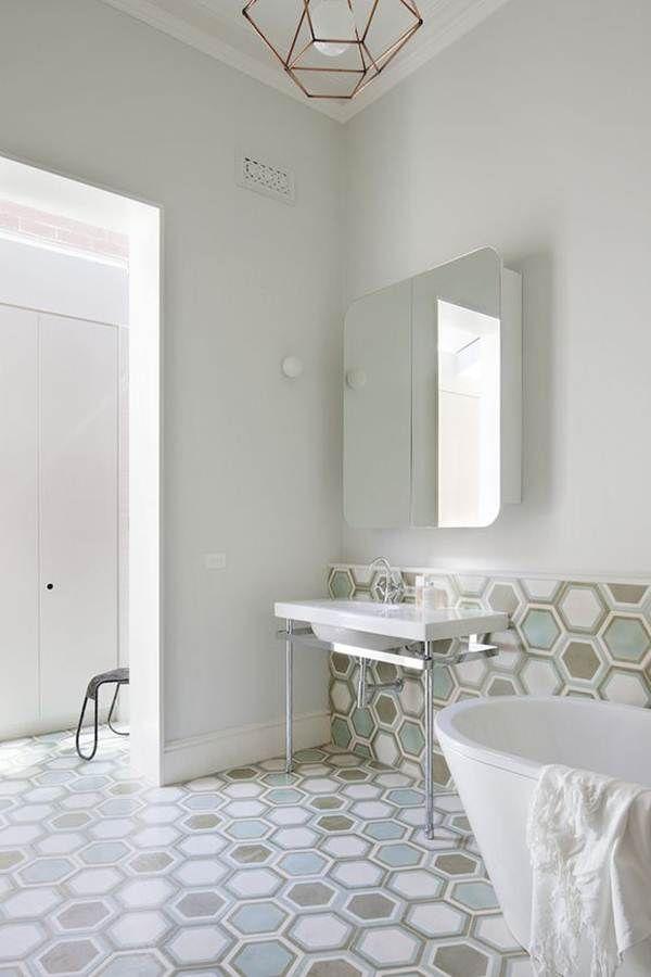 Baldosas Para Baño   Mas De 25 Ideas Increibles Sobre Baldosas Hexagonales En Pinterest