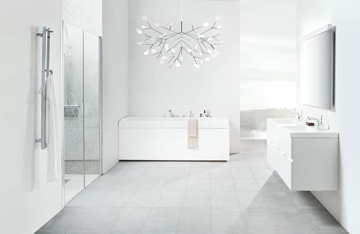 Forma. Vanity Unit double white 4 drawers.