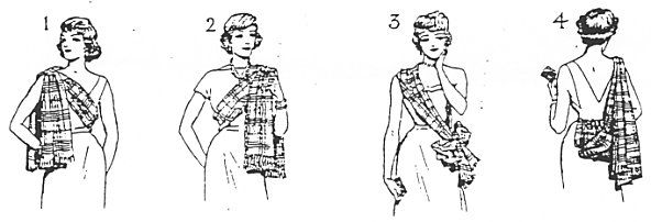 How you should wear your Clan Tartan Sash!  I think I want to wear style 1 over my gown at my débutante ball.