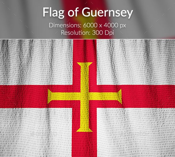 Ruffled Flag of Guernsey by Shaado36 Ruffled Flag of Guernsey, Guernsey Flag Blowing in Wind Dimensions: 6000脳4000 px Resolution: 300 dpi