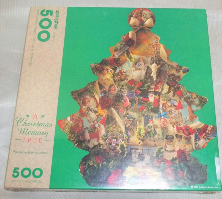 Vintage NOS Sealed A Christmas Memory Tree