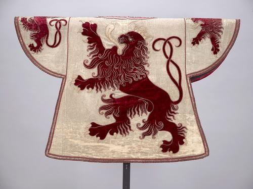 Limbourg (Limburg) -- Wappenrock für den Wappenkönig-Herold des Herzogtums Limburg, 17. Jahrhundert (1715 Reparatur)