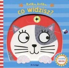 Książka Kotku, kotku co widzisz? Ruchome obrazki - zdjęcie 1