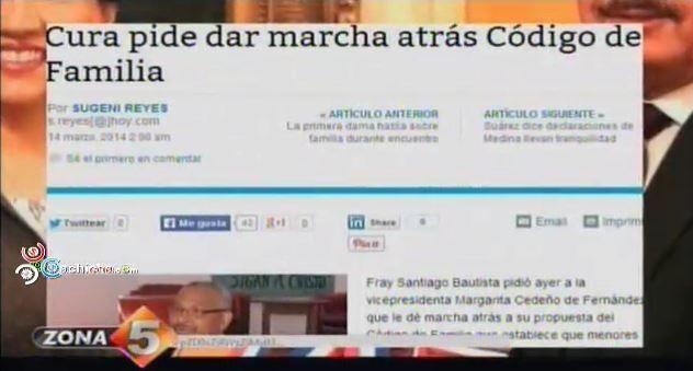 Repudian Codigo De Familia @Zona5Telemicro5 #Video