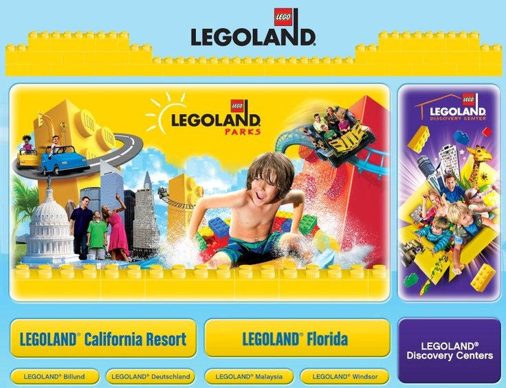 Visiting a Lego Land Theme Park in either Florida or California is one of my 'BUCKET LIST' items!