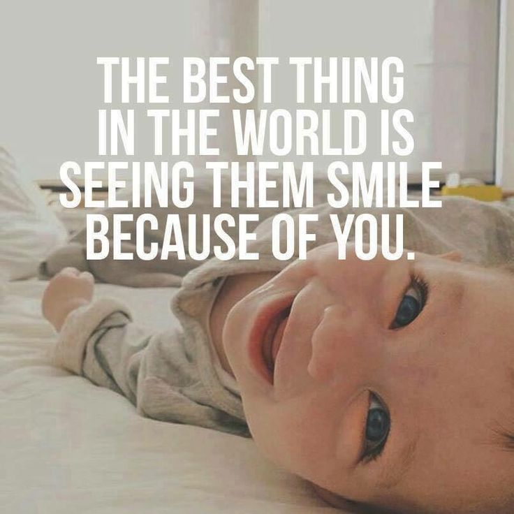 Mom meme - baby smiles! #cute #motherhood #hotmomsclub