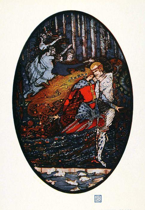 enchantingimagery:  by Harry Clarke.: Age Illustrations, Spots Illustrations, Posts Illustrations, Inspiration Illustrations, 1919, Meeting 1918, Harry Clarke, Harry Clarks, Dance Prince