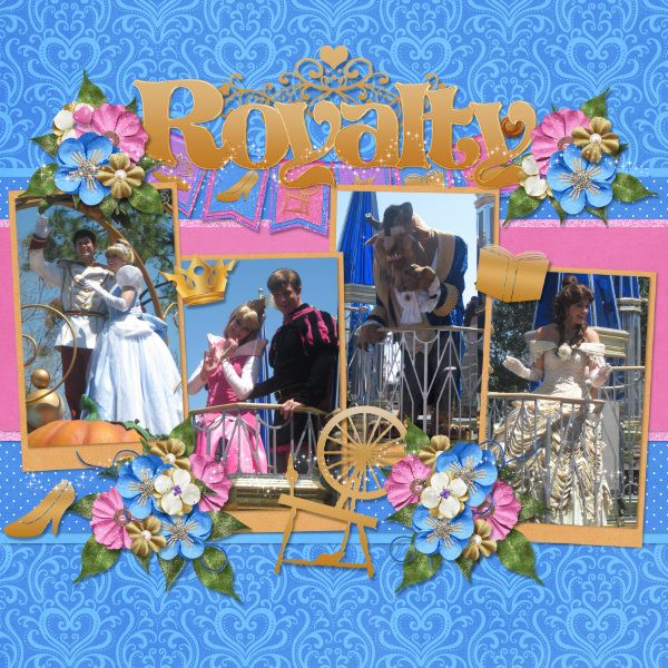 Royalty {Celebrate A Dream Come True Parade 2013} - MouseScrappers - Disney Scrapbooking Gallery