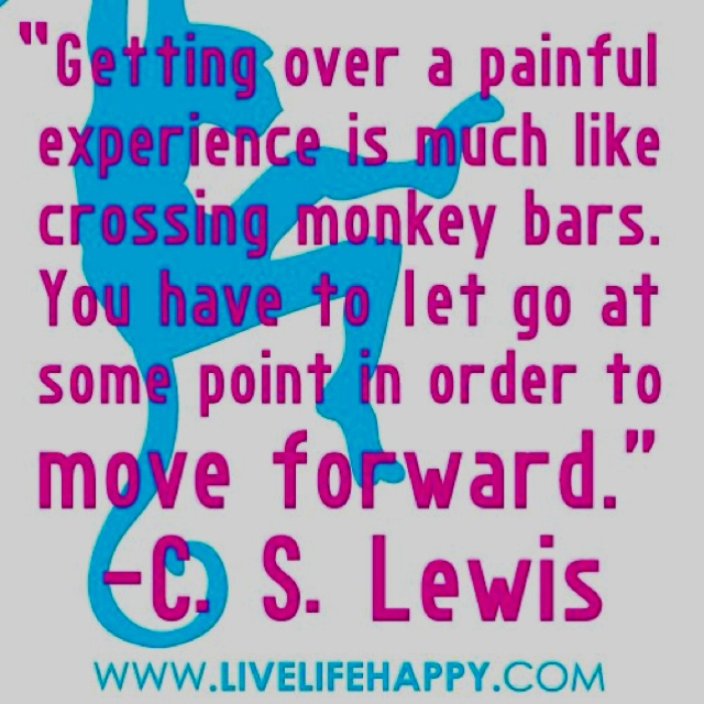 Keep moving forward :)Words Of Wisdom, Remember This, Life Lessons, Quote, Cslewis, Monkeys Bar, Cs Lewis, Moving Forward, True Stories