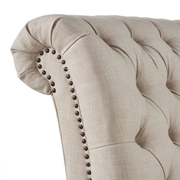 Shop Knightsbridge Tufted Oversized Chaise Lounge by ...