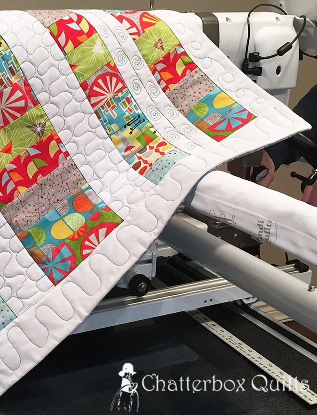Vintage Quilting on the Handi Quilter Infinity
