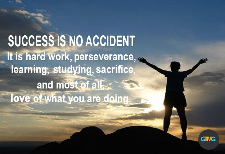 SUCCESS IN NO ACCIDENT. It is hard work, perseverance, learning, studying, sacrifice, and most of all, love of what you are doing.  #Success #Hardwork #Perseverance #Learning #Studying #Sacrifice #Love