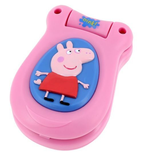 Buy Peppa Pig Peppas Little Phone Toys Boots 163 12