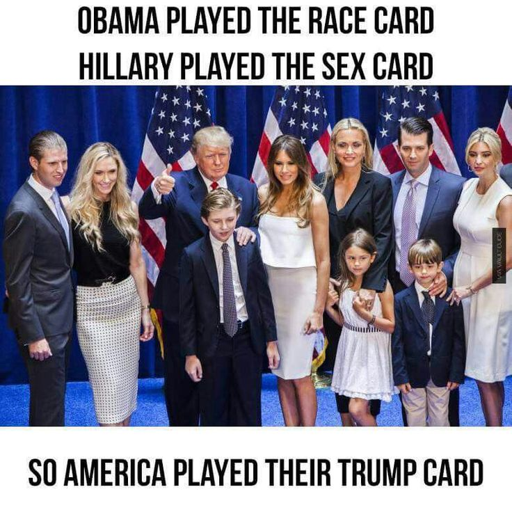 Trump family to make America great again!.