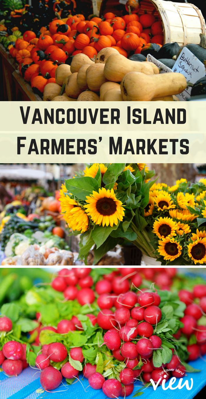Are you looking for fresh, local organicproduce? How about a wide selection of locally made goods? A Farmers Market might just be the place for you. Check out this list of locations for Vancouver Island.