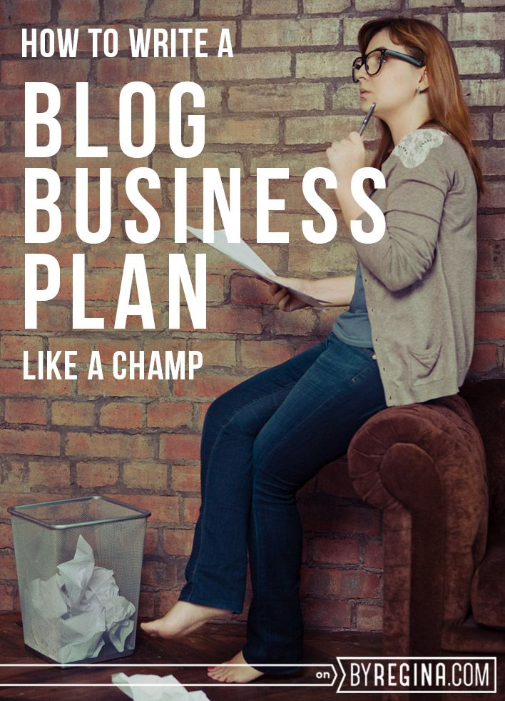 How to Write a Blog Business Plan: Highly recommended by The Peony Project member