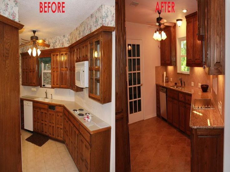 17 best images about small kitchen remodel before and for Kitchen remodel ideas before and after