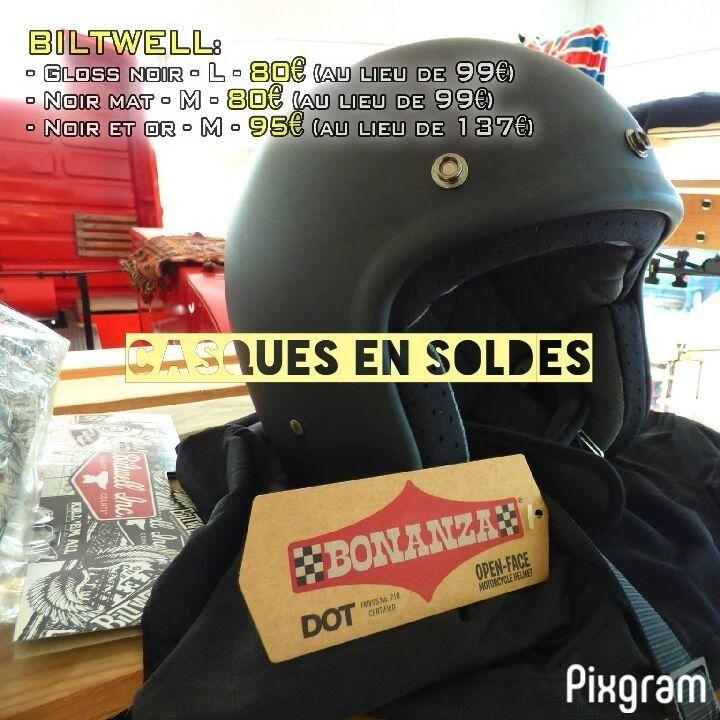 CASQUE EN SOLDES 📣 #ICON #iconhelmet #afxhelmet #biltwell #helmet #casque #casques #rideunrivalled #soldes #sales #lowbrowcustoms #sportster #tetedemort #noir #spacebass #eldiablo #workshop #workshop53 #lavalourien #laval #moto #accessoiries #mayenne #francemoto #france #magasin #magasins #selection #agressif #paysdelaloire