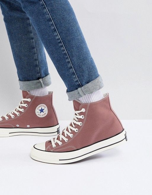 1758180a8e7b25 Converse Chuck Taylor All Star  70 Hi Sneakers In Pink 159623C ...