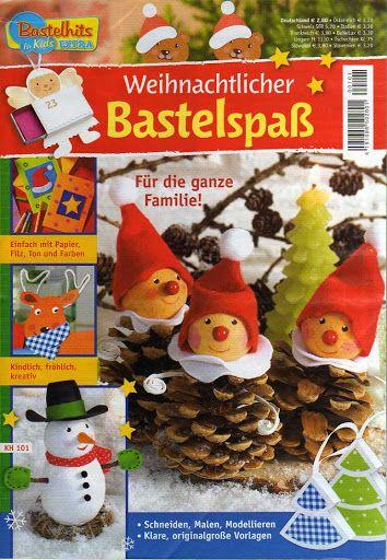 Bastelhits für Kind - Weihnachtlicher Bastelspass - Muscaria Amanita - Picasa…