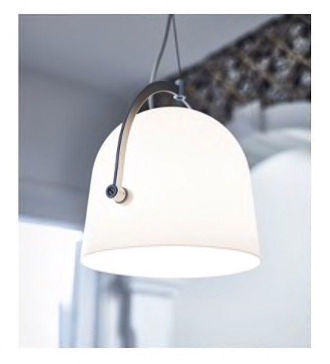 IKEA SVIRVEL Hängeleuchte weiß Hängelampe Deckenleucte Lampe Leuchte Neu