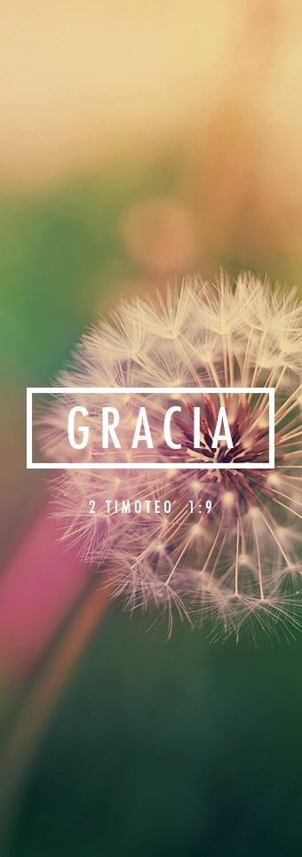 2 Timothy 1:9 Pues Dios nos salvó y nos llamó a una vida *santa, no por nuestras propias obras, sino por su propia determinación y gracia. Nos concedió este favor en Cristo Jesús antes del comienzo del tiempo;