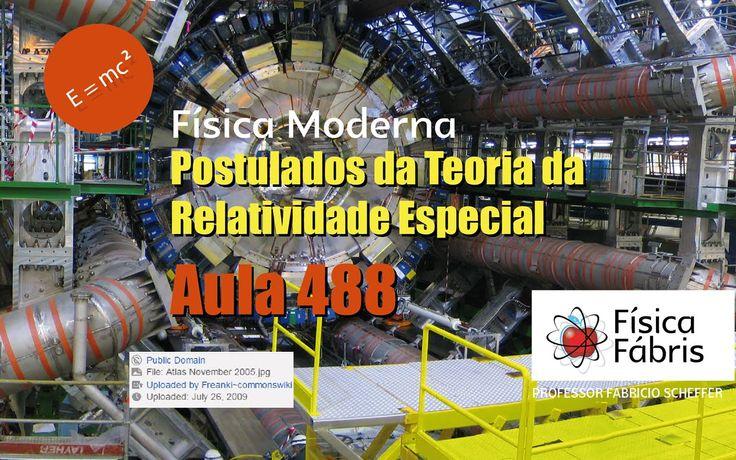 Teoria da Relatividade Restrita ou Especial Postulados  Física Moderna  ...