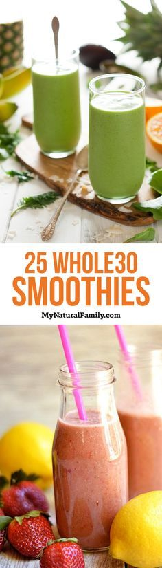 25 Whole30 Breakfast Smoothie Recipes                                                                                                                                                      More