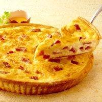 Quiche lorraine -recette de quiche lorraine - Cahier de cuisine
