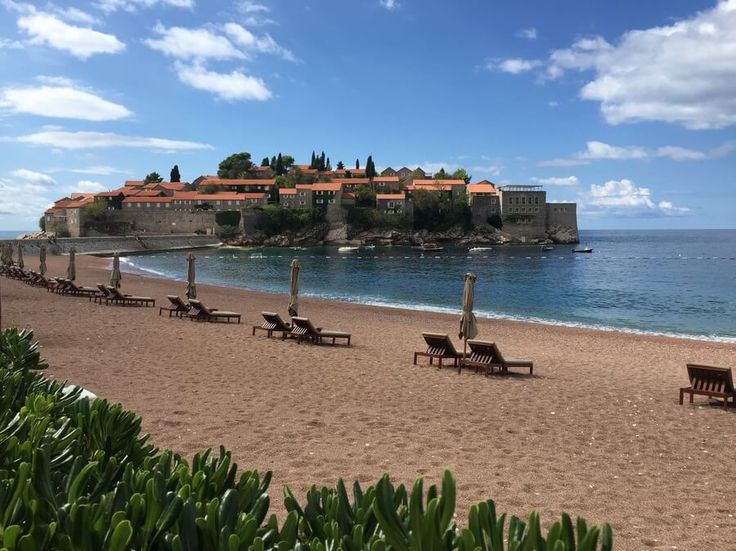 The 7 day self-drive Discover Montenegro tour takes you Montenegro's best spots, like Sveti Stefan on the Budva Riviera.