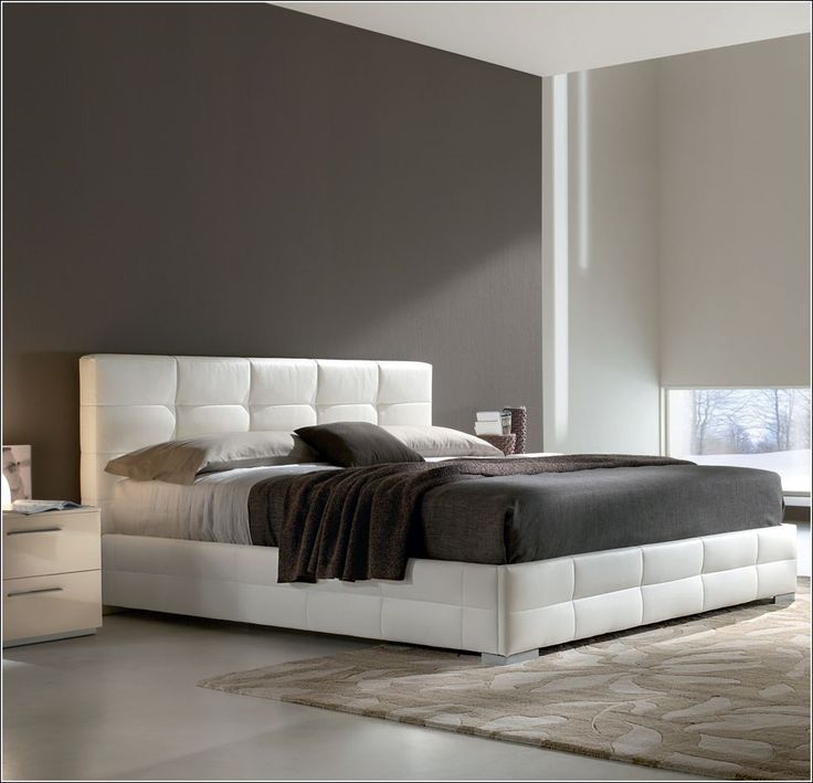 id e d co chambre a coucher lits rembourr s pour un look. Black Bedroom Furniture Sets. Home Design Ideas