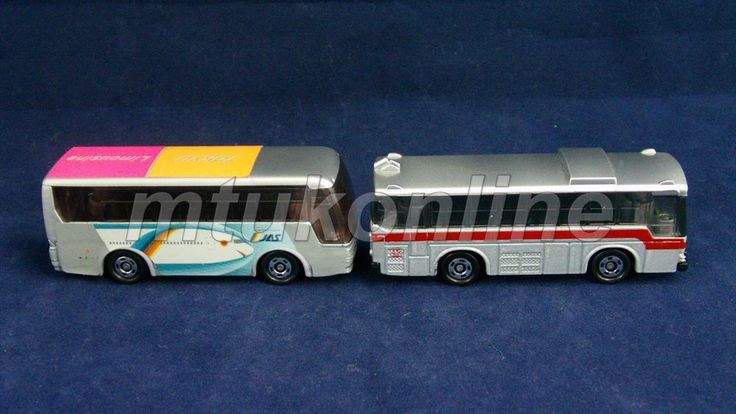TOMICA GIFT SET 2001 | 2 BUSES LIMITED EDITION | CHINA | TOKYU BUS EXCLUSIVE