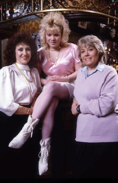 EastEnders // Angie, Sharon and Pauline: 1985 (Anita Dobson, Tish Dean, and the…