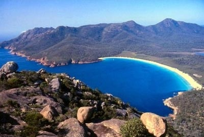 Wineglass Bay, Tasmania. What a beauty!
