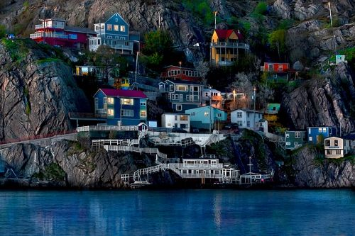 Newfoundland, Canada, Outter Battery beautiful place to stroll along.