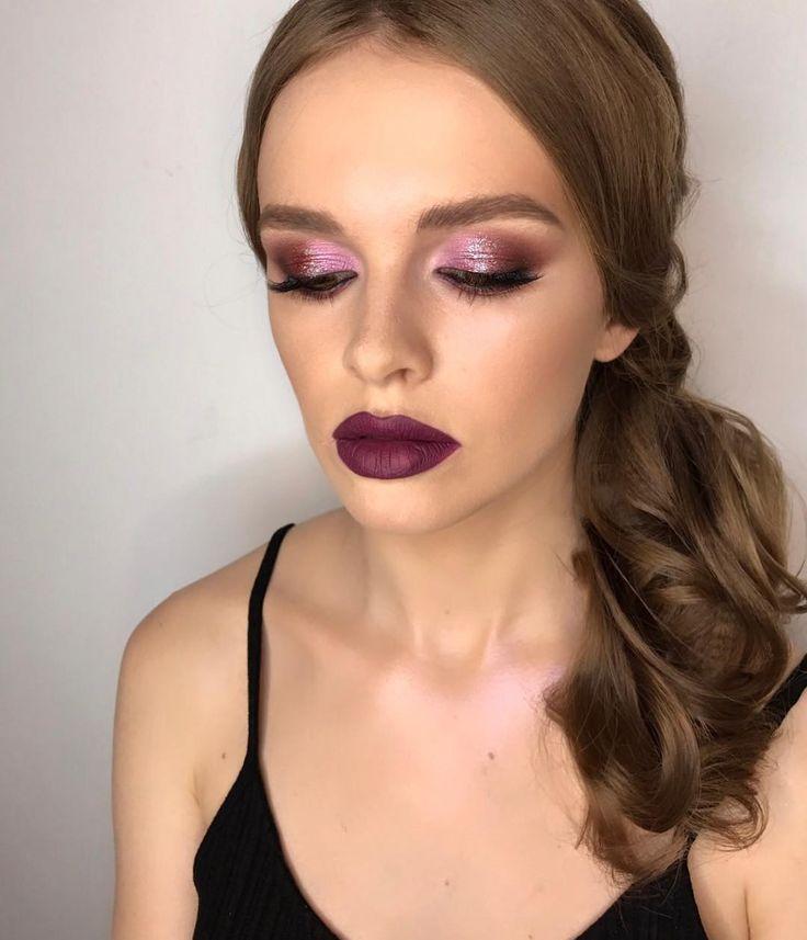 Вечерний макияж 🌟🌟🌟  Мой мастер класс в Киеве ♥️