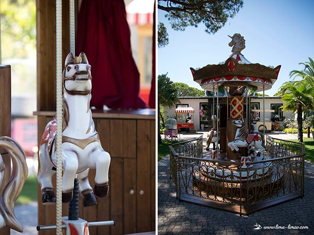 The real vintage carousel, on the outside.