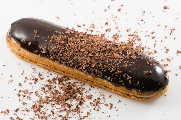 CHOCO NOIR - ecler cu ciocolată neagră #frenchrevolutioneclairs