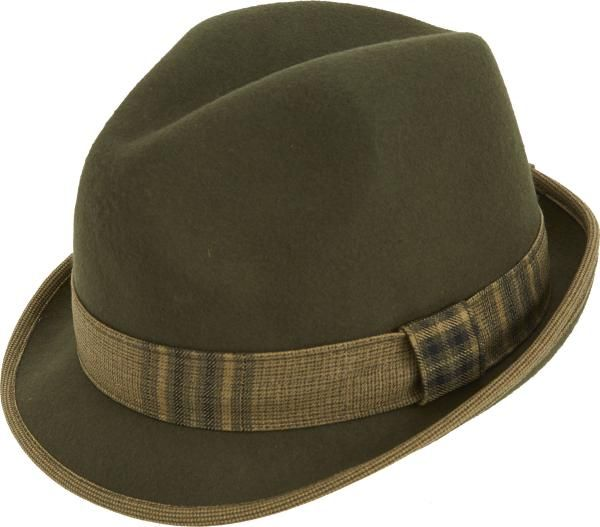 Montique Fedora Men's Felt Hat H-13