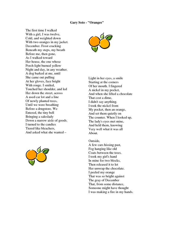 11 best images about Oranges by Gary Soto on Pinterest ...